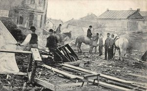 LPS56 Johnstown Pennsylvania Johnstown 1889 Flood Main & Jackson Streets