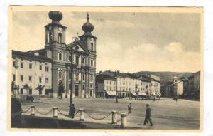 Gorizia , ITALY , 00-10s ; Piazza Vittoria e Chiesa S. Ignazio