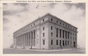 Oklahoma Muskogee United State Post Office And Federal Building 1950