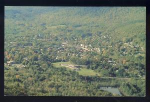 Shelburne Falls, Massachusetts/MA/Mass Postcard, Spectacular Aerial View