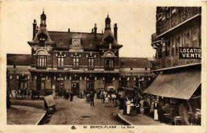 CPA Berck Plage- La Gare FRANCE (908869)