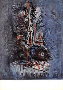 Wols Composizione blu 1951 Raccolta privata Milano
