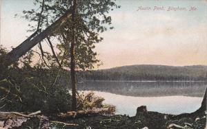 Austin Pond, BINGHAM, Maine, 1900-1910s