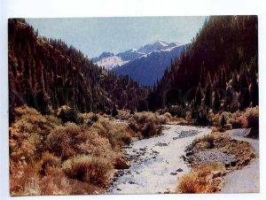 238937 Kyrgyzstan Jets-Oguz river valley old postcard