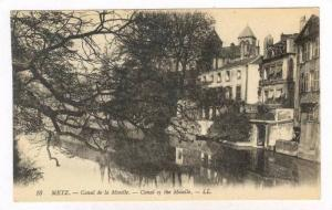 Metz ,France., 00-10s , Canal of the Moselle