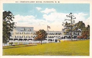 Plymouth New Hampshire~Pemigewasset House~1920 Postcard