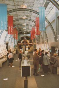 Future Gallery Machine Euro Channel Tunnel Folkestone Exhibition Centre Postcard