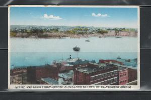CANADA, QUEBEC, LEVIS FERRY ET TRAVERSIERES 1941