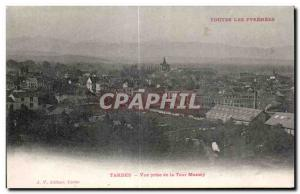 Old Postcard The High Tarbes Massey View from the tower