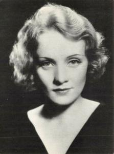 Postcard, German-American Actress Marlene Dietrich by Athena International 50V