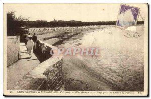 Old Postcard St Georges de Didonne Generale Cue the Beach taking the path of ...