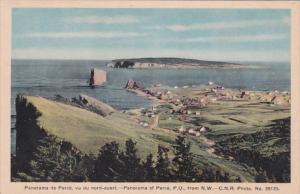 Canada Perce Panoramic View