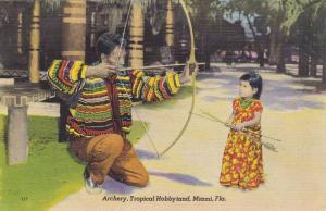 Archery: Seminole Indian , Miami , Florida , 30-40s