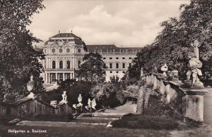 Germany Wuerzburg Hofgarten und Residenz Real Photo