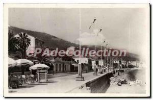 Postcard Old Casino Menton Promenade