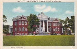 Virginia Salem The Lutheran Children's Home Of The South
