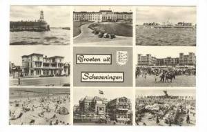 RP  Scheveningen, Netherlands 1940s 8-view