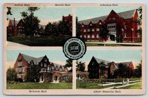 Milwaukee Wisconsin~Downer College~Holton-Merrill-Jackson-McLaren Halls~c1910