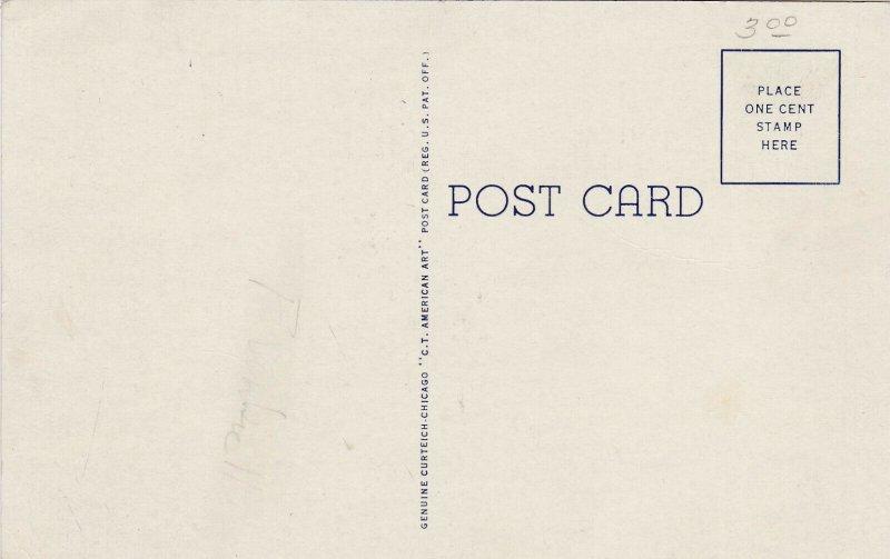 POINT PLEASANT, West Virginia, 30-40s; Cornstalk Monument, Court House Park