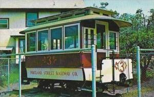 Railroad Portland Street Railway No 3