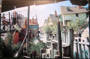 Malta Sweethaven Village Popeye Film Set at Anchor Bay - unposted