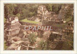 Postcard Modern Guatemala Tikal ancient Mayan metropolis