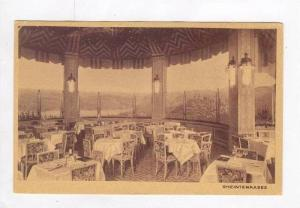 INT., Tables @ Wine Rest.,Rheinterrasse,Germany 00-10s