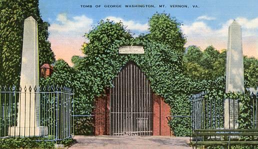 VA - Mt. Vernon, Tomb of George Washington