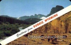 Dubois, WY, Wyoming,