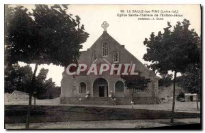 Old Postcard La Baule Loire Inf Church of Saint Therese of the Child Jesus Pins