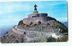 Vintage Postcard Cristo Bay from Cubilete Hill Silao Gto  Mexico  # 2109