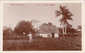 Cuba Casa de Campo Typical Country House Real Photo