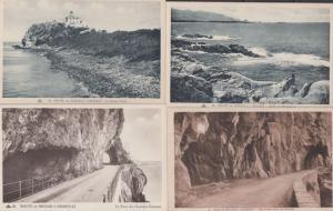 Route de Bougie a Djidjelli A Bougie 4x Old Algeria Algerian Postcard s