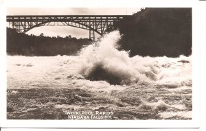 Niagara Falls, NY - Whirlpool Rapids - RPPC