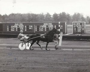 FREEHOLD RACEWAY, Mannart Bionic Finishes All Alone, 1983