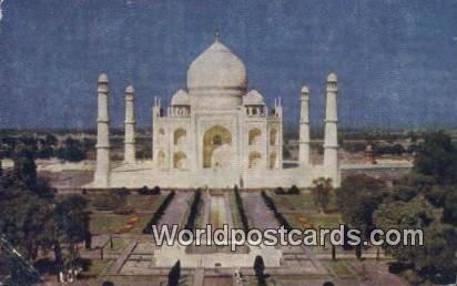 Taj Mahal Agra, India Unused