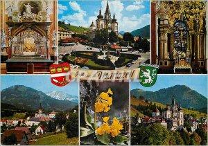 Postcard Modern Wallfahrtsort Mariazell 862 m Stmk Gnadenaltar gnadenkirch Ho...