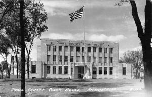 Anamosa Iowa Jones Court House Real Photo Antique Postcard K58927