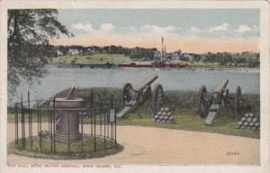 Illinois Rock Island Sun Dial Rock Island Arsenal