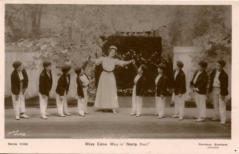 Edna May in Nelly Neil      *RPPC