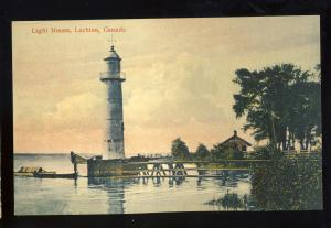 Lachine, Quebec, Canada Postcard, Lighthouse/Light