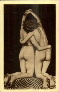Unusual Nude Art c1920s-30s Card/Postcard - Blank Backside