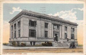 Iowa  Davenport    Public Library