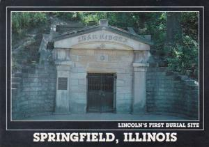 Lincoln's First Burial Site Springfield Illinois