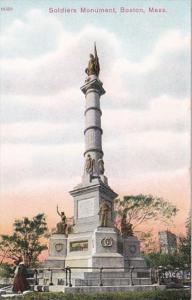 Massachusetts Boston Soldiers Monument
