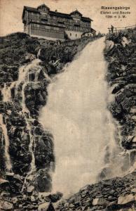 Czech Republic Riesengebirge Elbfall und Baude 02.78