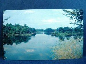 Postcard DE Milford Silver Lake