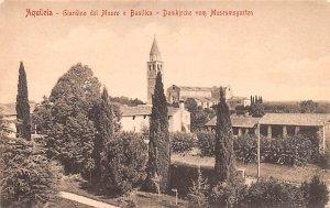 Giardino del Museo e Basilica Aquileia Italy Unused