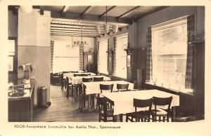 Ferienheim Linzmuehle bei Kahla Thueringen Speiseraum