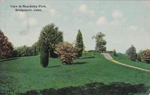 Connecticut Bridgeport View In Beardsley Park 1912